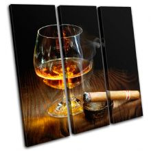 Cigar Cognac Brown Food Kitchen - 13-0153(00B)-TR11-LO
